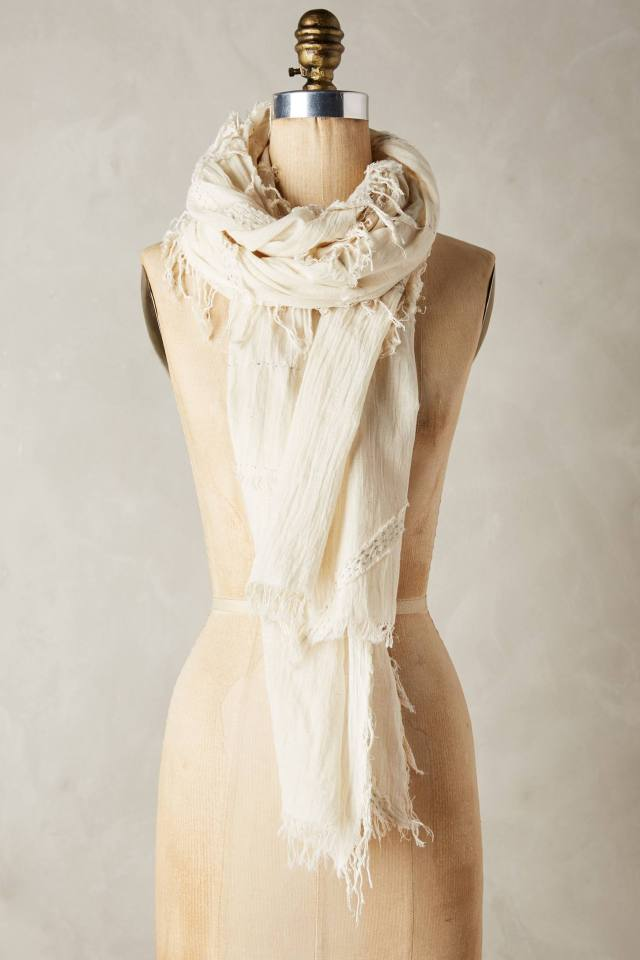 Moonlit Stitch Scarf by Mimbres