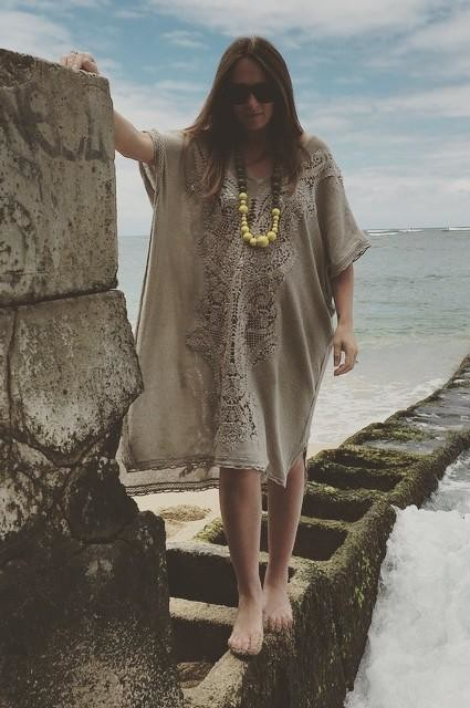 Navan Crochet Caftan by Knitted & Knotted