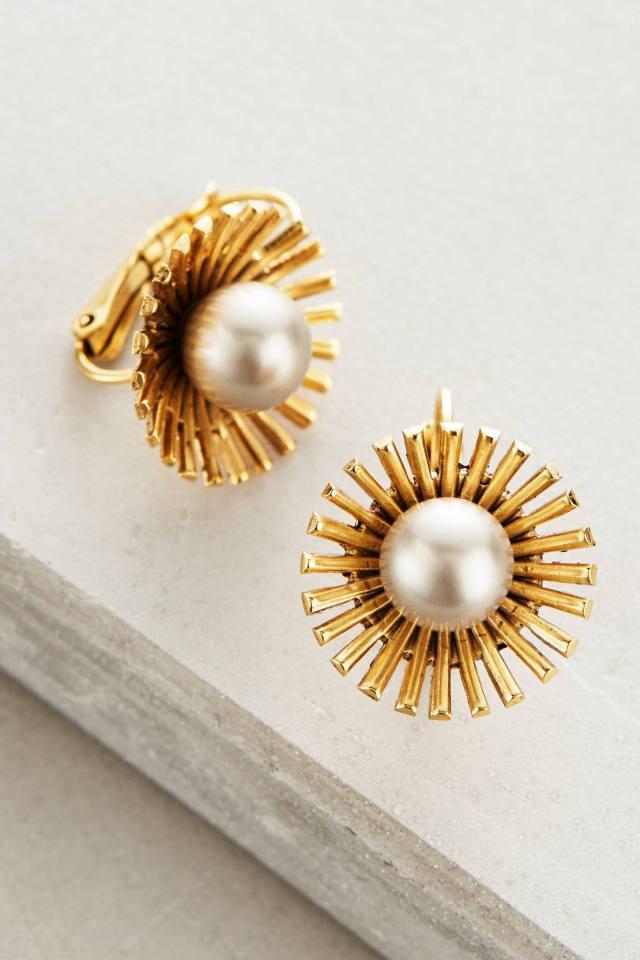 Pearled Dandelion Drops by Elizabeth Cole