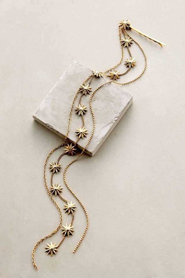 Sand Star Tasseled Bobby Pin by Lelet NY