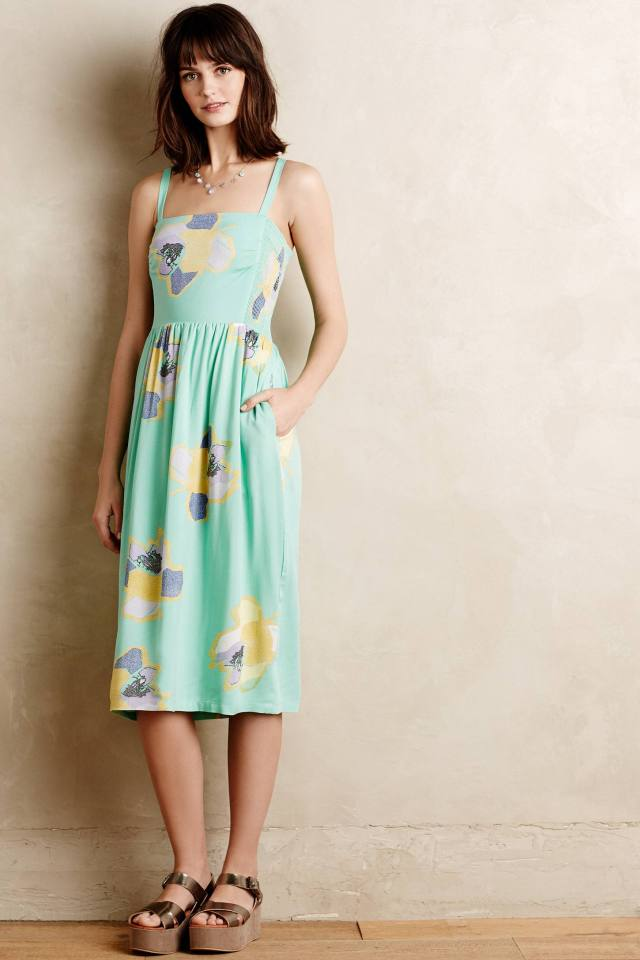 Sketchbook Midi Dress by Corey Lynn Calter