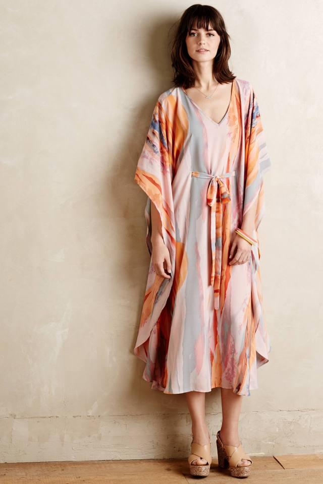 Sunstone Kimono Maxi Dress by Paper Crown
