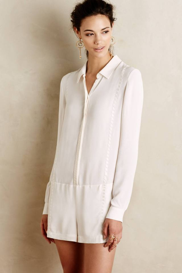 Tailored Romper by Twelfth Street by Cynthia Vincent