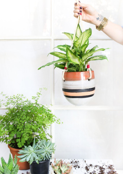 Tigris Hanging Garden Pot