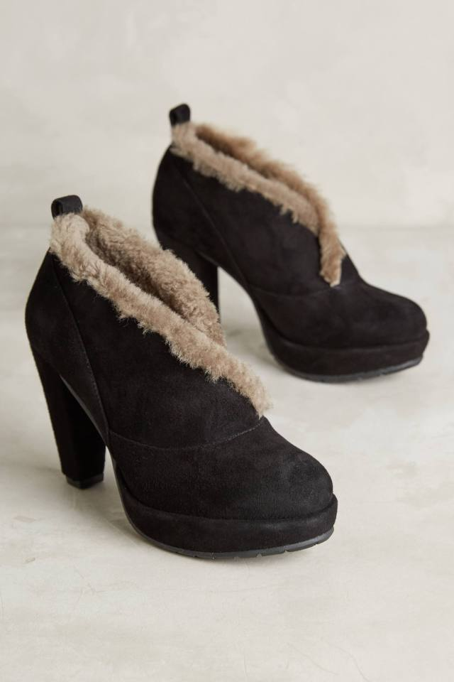 Collar Booties by All Black