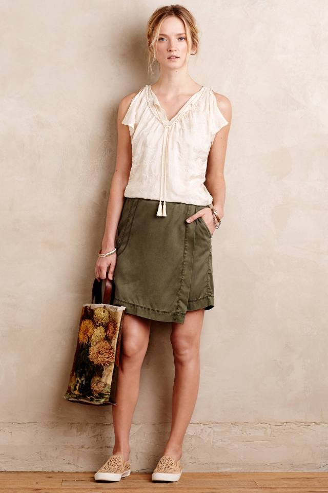 Alpine Wrap Skirt by Marrakech