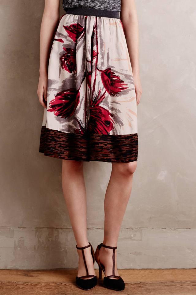 Apios Midi Skirt by Erika Cavallini Semicouture
