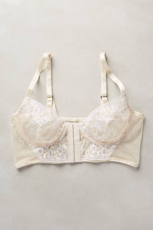 Ava Long-Line Bra by Lonely