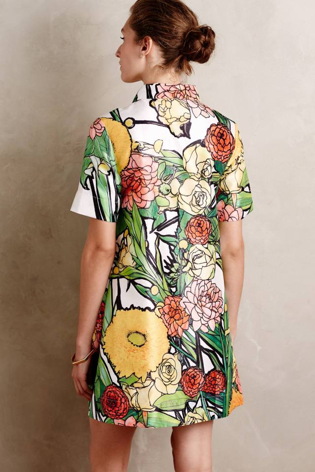 Botanist Shirtdress by Jena.Theo