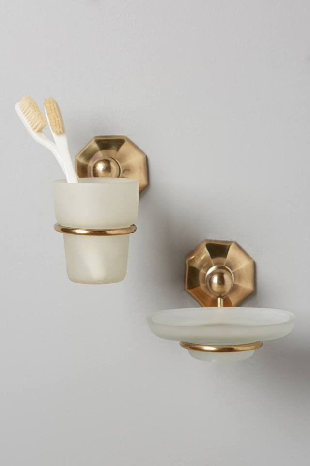 Brass Circlet Bath Containers