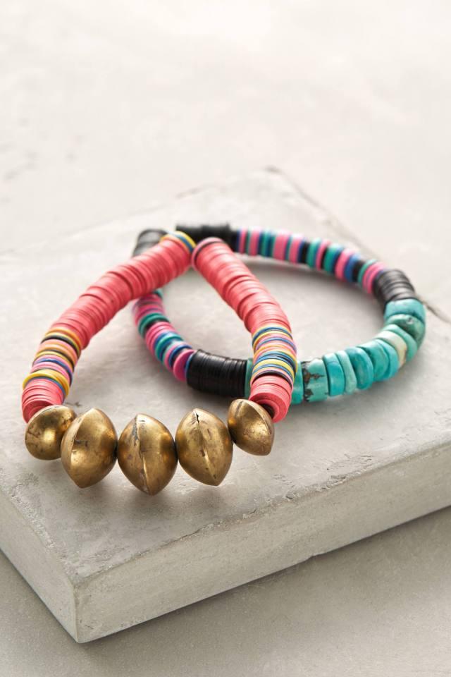 Brass Spun Bracelet Set