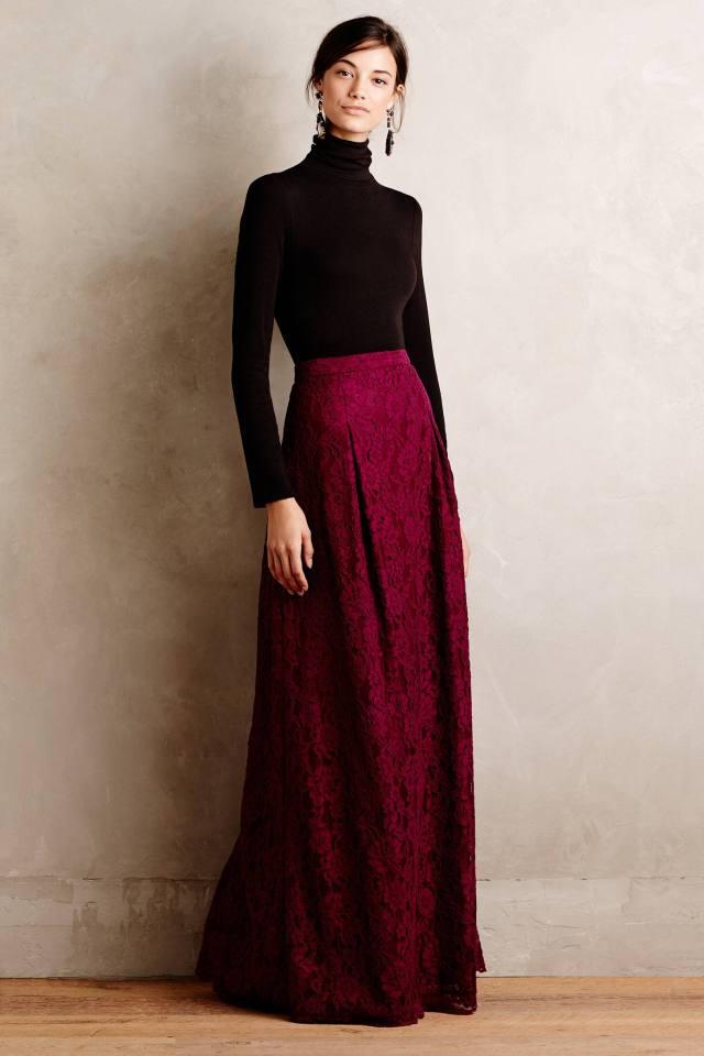 Etta Maxi Skirt by Nicole Miller
