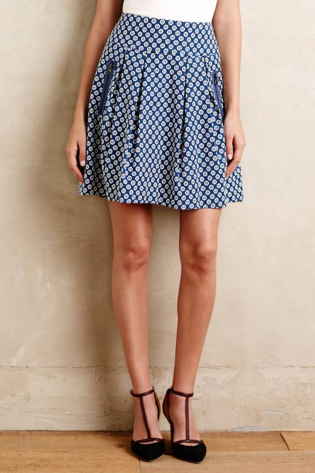 Fourth Street Swing Skirt by Maeve