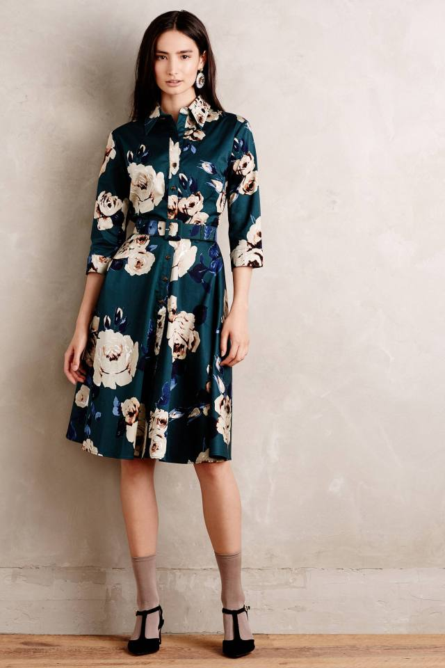Gallica Silk Shirtdress by Samantha Sung