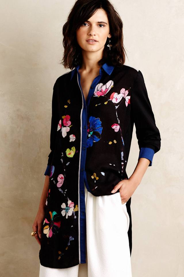 Impromptu Floral Tunic by Blank