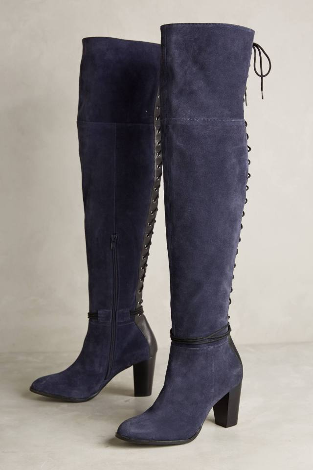 Toro Lace-Back Boots by Lien.Do