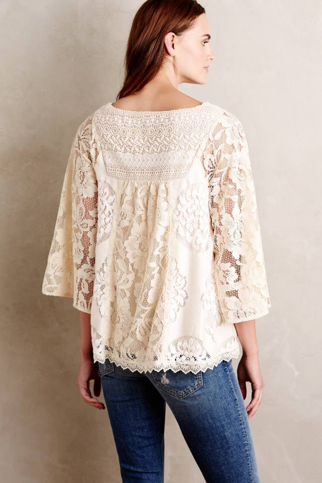 Prosody Lace Blouse by Vanessa Virginia