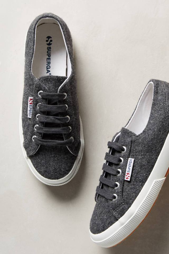 Wool Sneakers by Superga