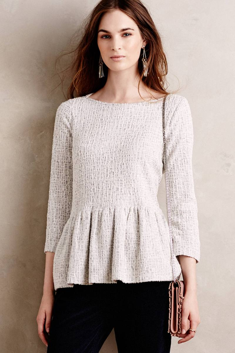 Anthropologie's New Arrivals: Fall Tops