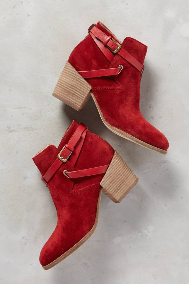 Genia Booties by Belle by Sigerson Morrison
