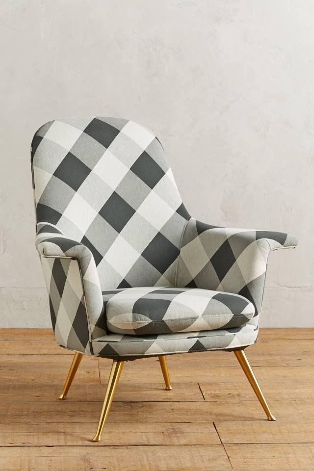 Buffalo Check Kimball Chair