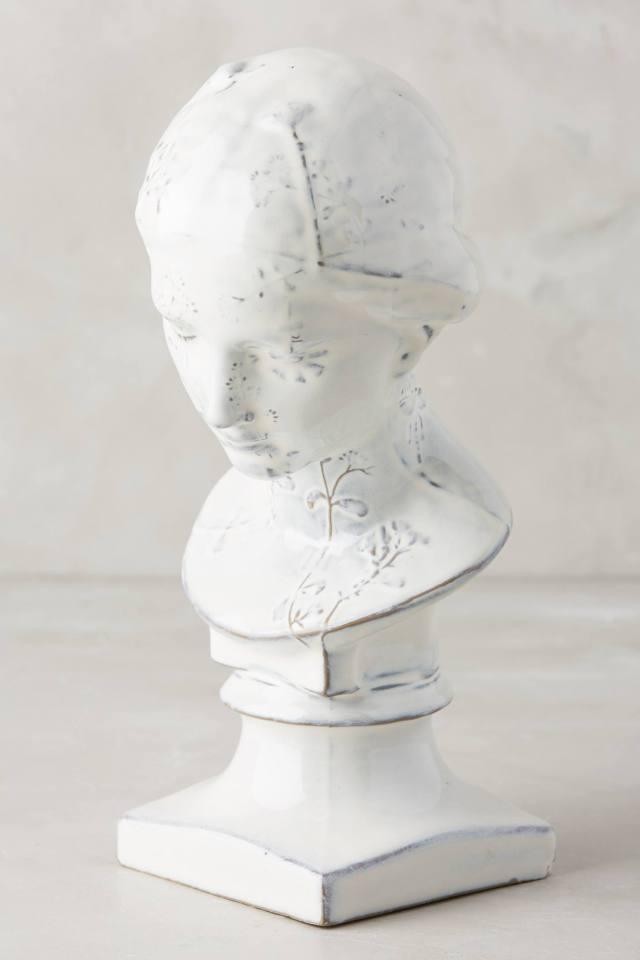 Ceramic Gentlewoman Bust