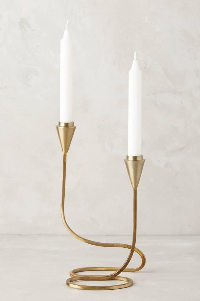 Cursive Candlestick
