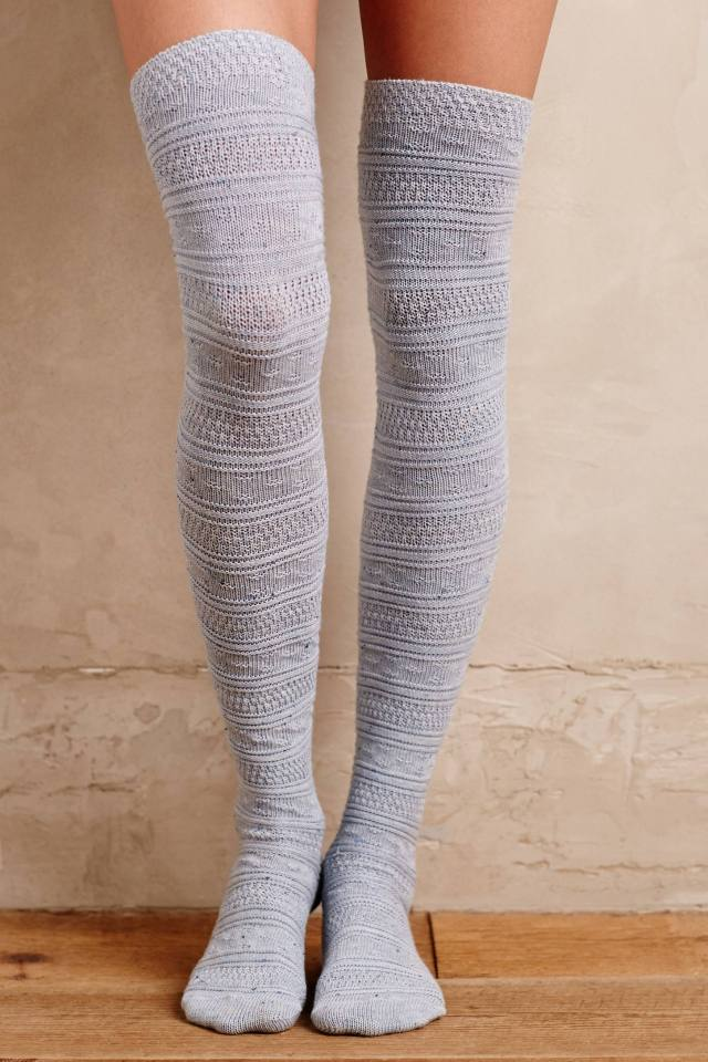 Diamante Knee Socks by Lemon