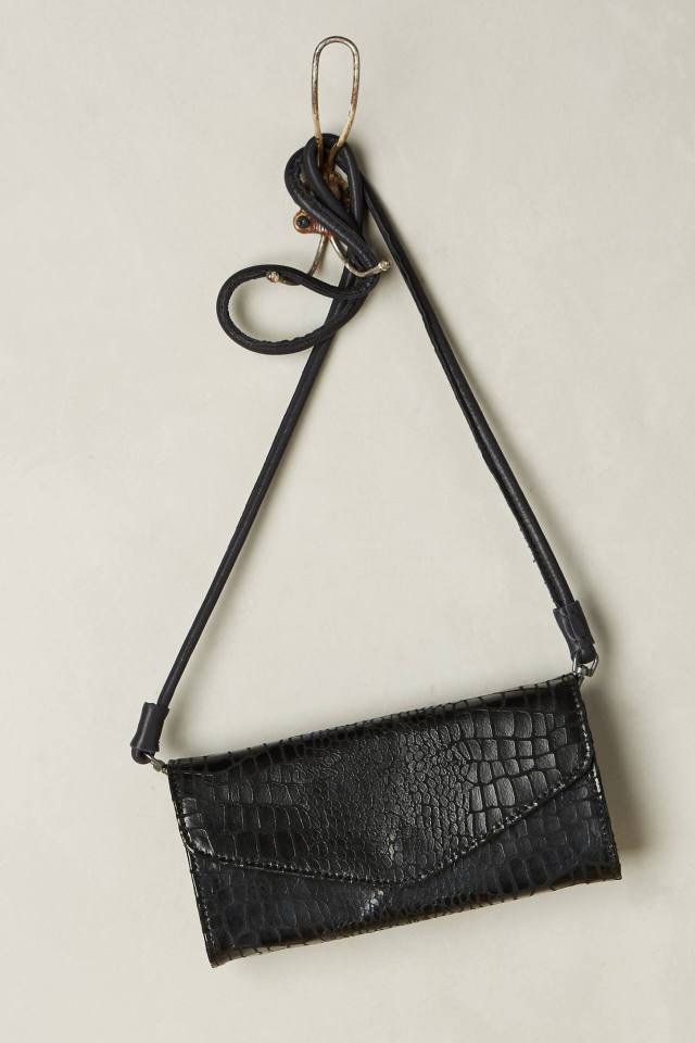 Doro Metallic Snake Crossbody Bag by Liebeskind