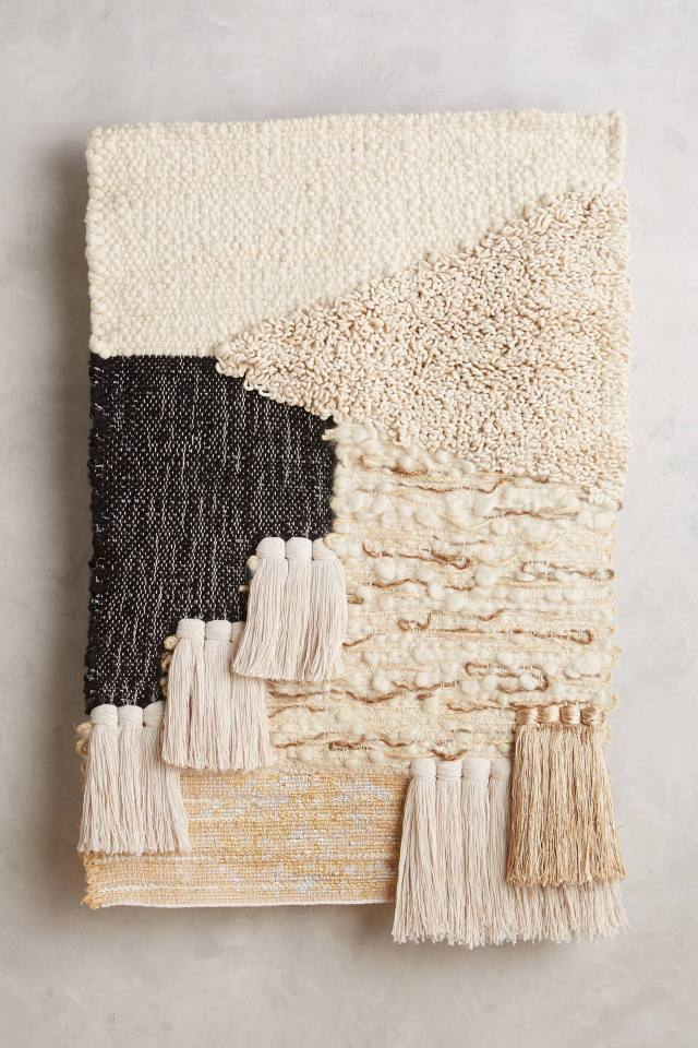 Loomed Architecture Wall Art by All Roads Design