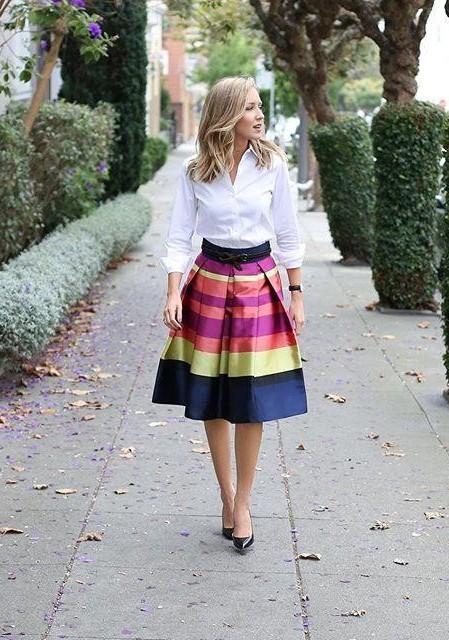 Marigot Pleated Skirt by Moulinette Soeurs