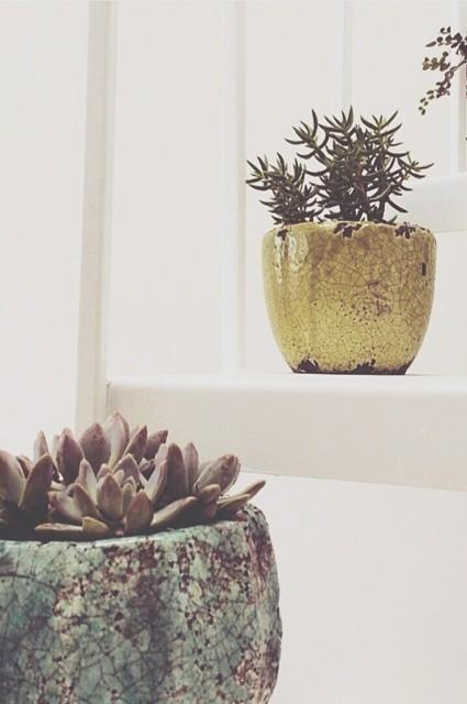 Celadon Garden Pot