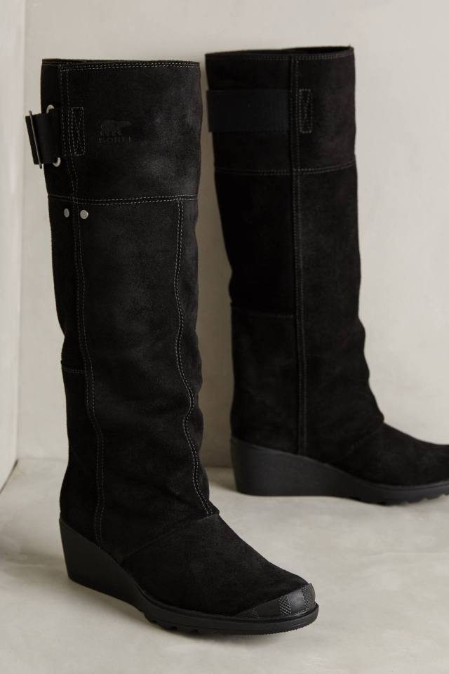 Toronto Wedge Boots by Sorel