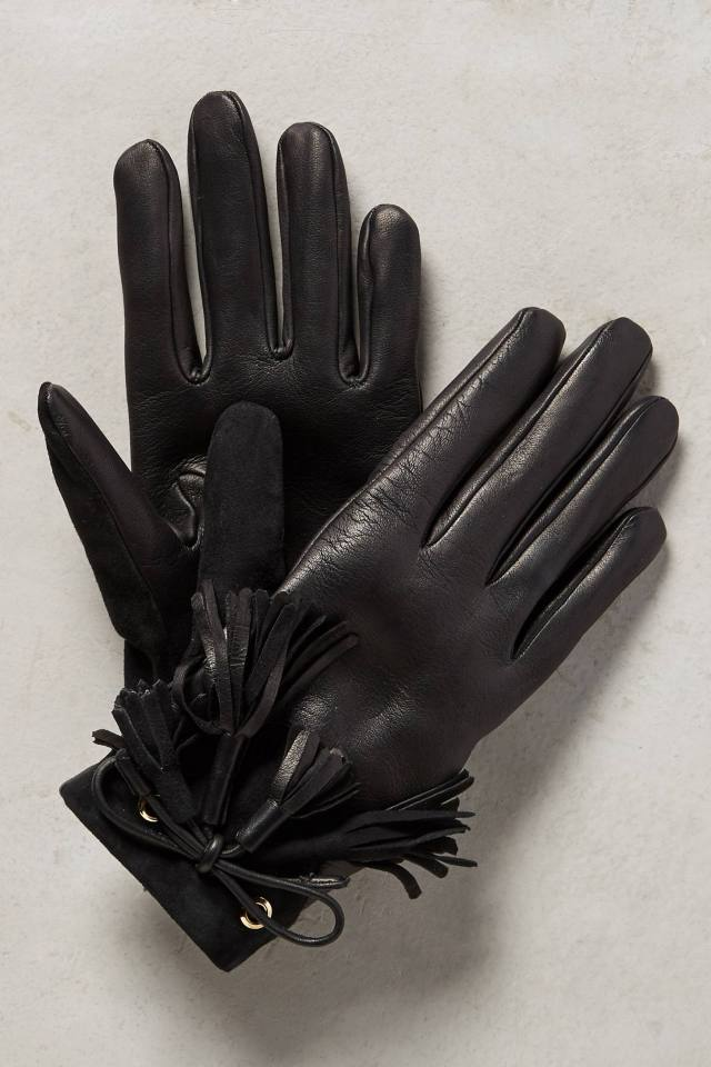 Lleida Tasseled Gloves by Hoss Intropia