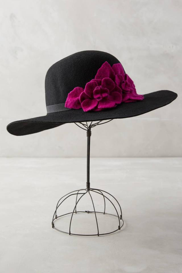 Beaulieu Floppy Hat by Helene Berman London
