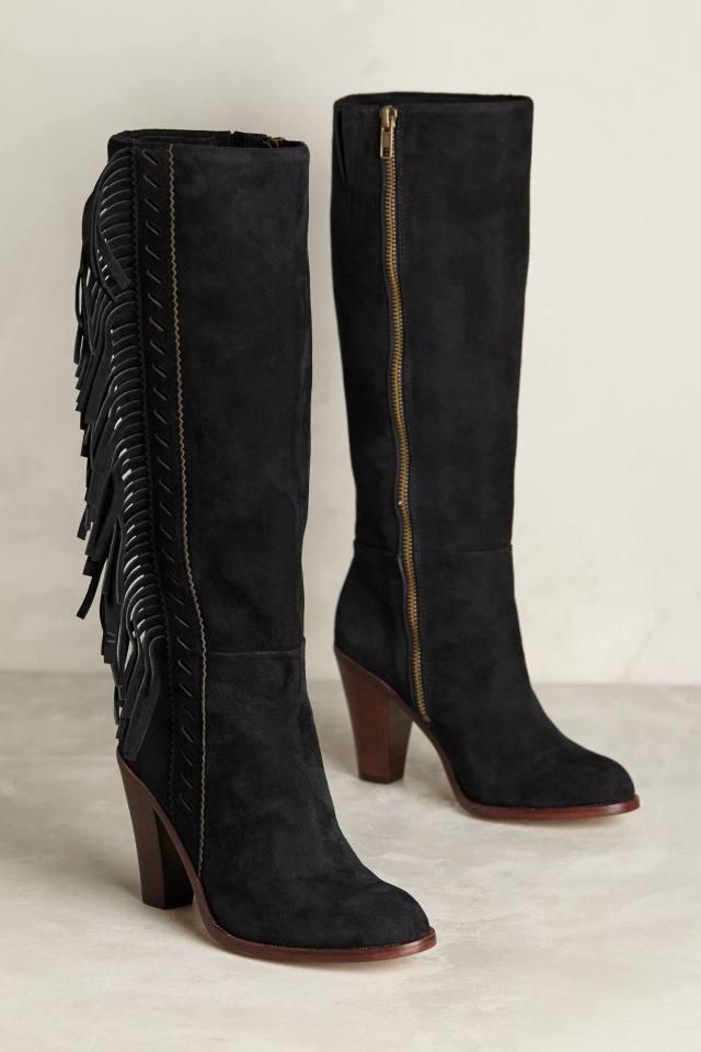 Serena Fringe Boots by Splendid