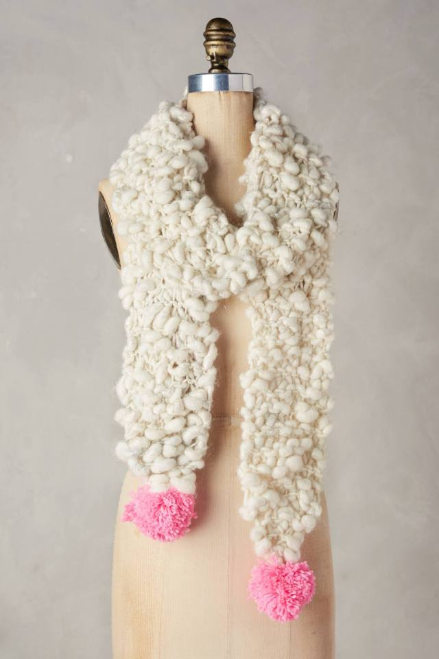 Bright Spot Scarf by Knit Collage