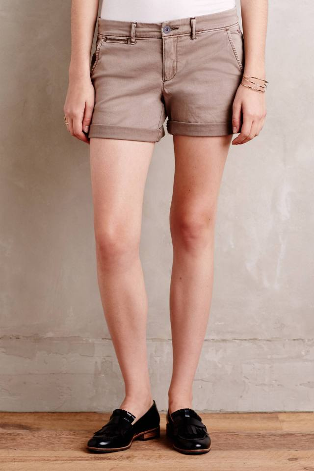 Hyphen Chino Shorts by Pilcro