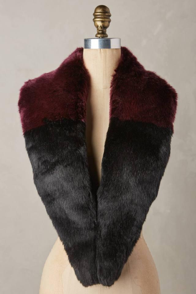 Evangeline Faux-Fur Stole