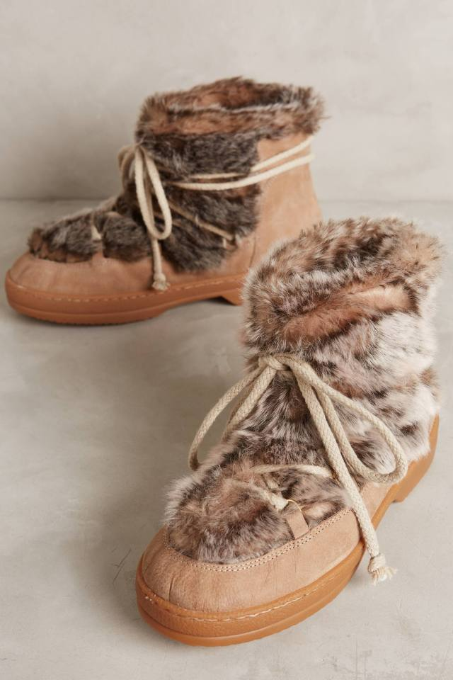 Faux-Fur Winter Boots by KMB