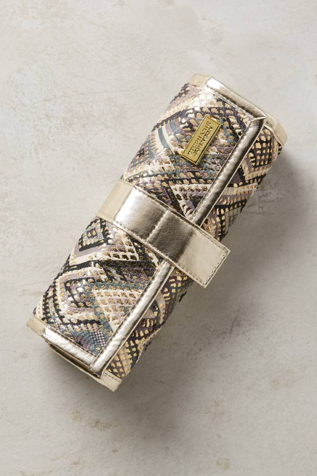 Montpellier Jewelry Roll by Stephanie Johnson