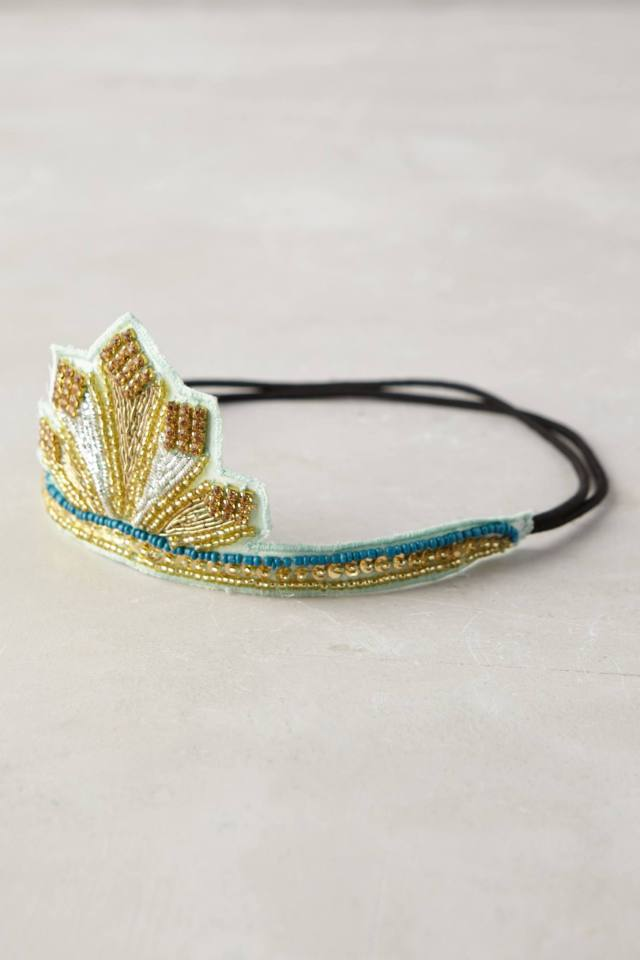Sequined Circlet Crown