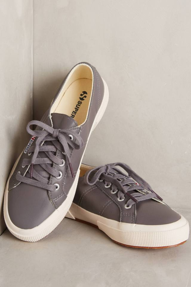 Nappa Sneakers by Superga