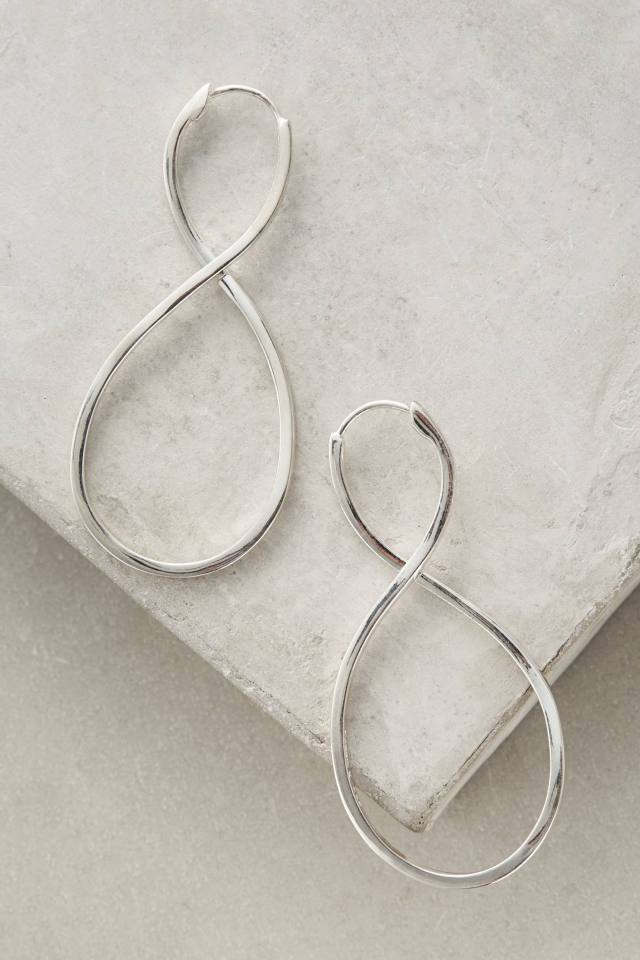 Sculpted Infinity Earrings by Carrie K.