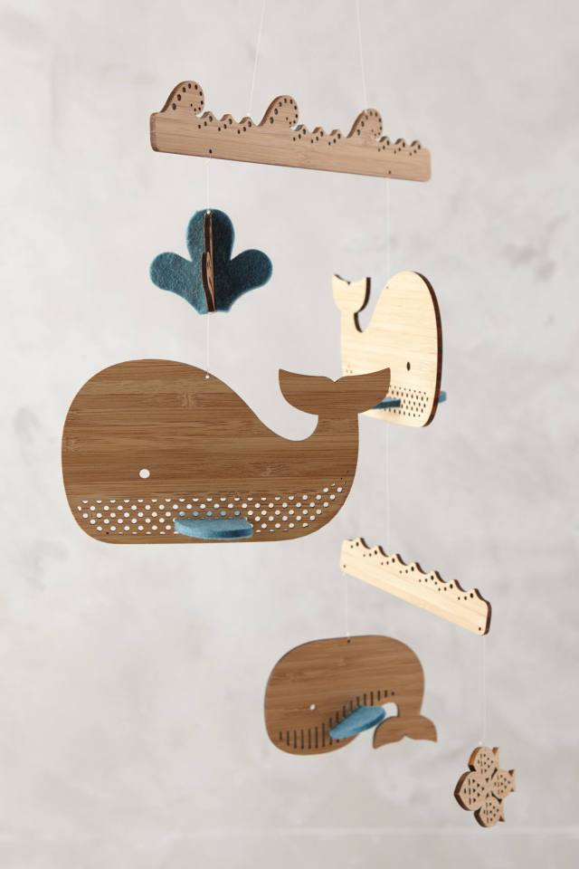 Animal Caper Mobile by Petit Collage