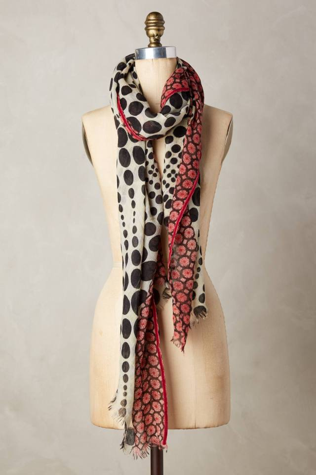 Iberia Dotted Scarf