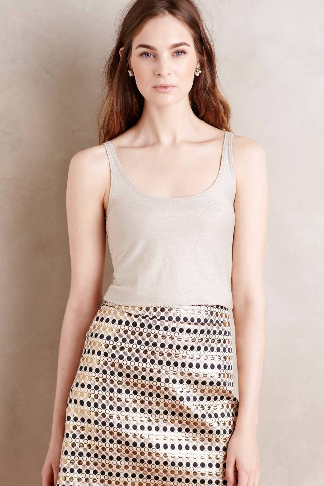 Shimmered Layering Tank by Only Hearts