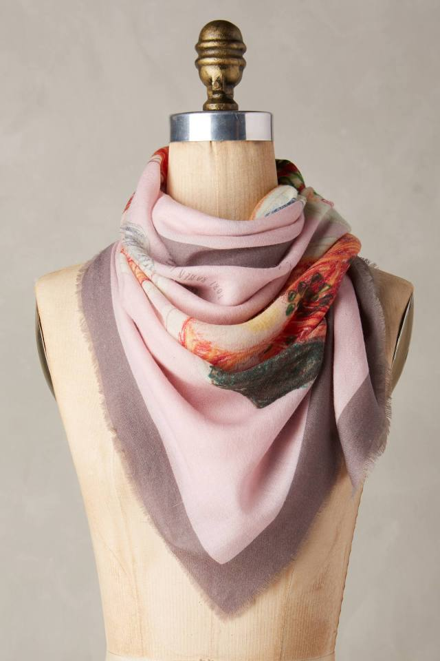 Ramen Square Scarf by CJW