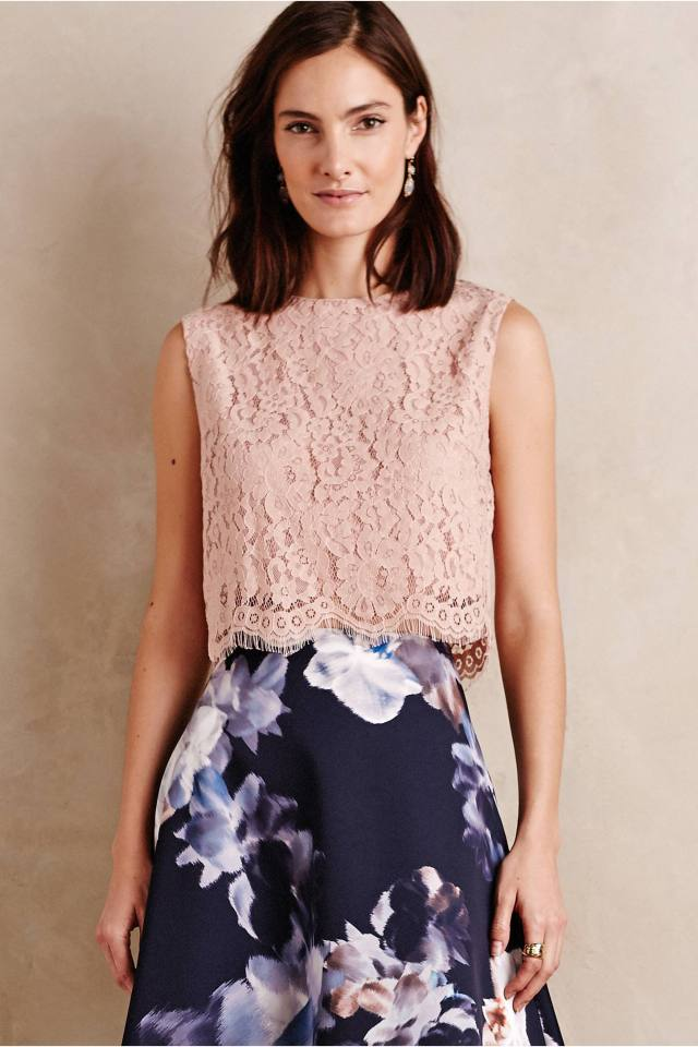 Lace Midi Top by Bishop + Young