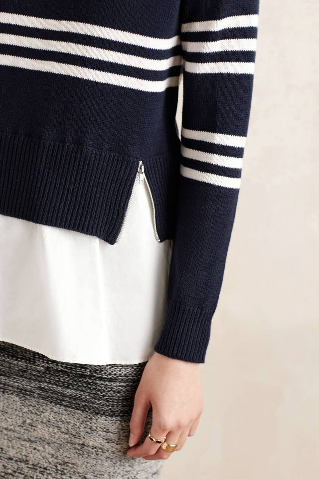 Layered Enna Pullover by Lili's Closet